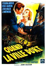 Affiche de Quand la ville dort (1950)