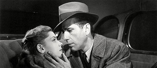 Lauren Bacall et Humphrey Bogart dans Le Grand Sommeil (1946)