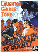 Affiche des Révoltés du Bounty (1935)