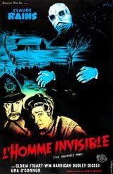 Affiche de L'Homme invisible (1933)