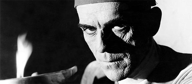 Boris Karloff dans La Momie (1932)