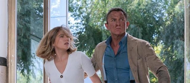 Daniel Craig et Léa Seydoux dans Mourir peut attendre (2021) © DANJAQ, LLC & MGM