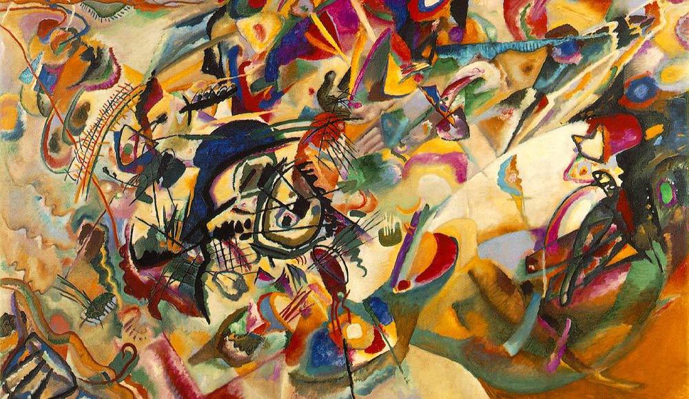 Wassily Kandinsky: Composition VII (1913)