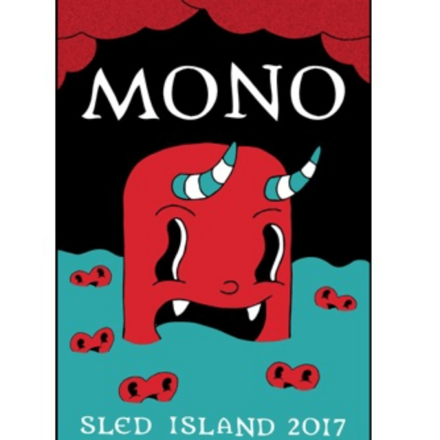 Poster for Sled Island 2017 by Chris Morix