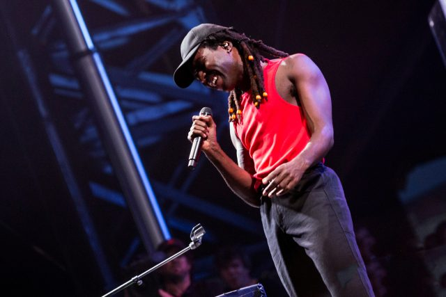 Blood Orange performs on Friday. Photo by Brian F. Benton.