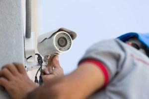 Ip-Kamera Anbringung Installation Einrichtung Überwachungskamera