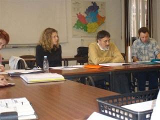 Audrey la présidente, Jean le secrétaire et Christophe son adjoint :)