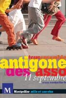 affiche de la 25eme edition de l'Antigone des associations