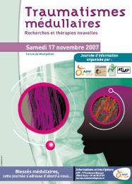 Le 17 novembre à Montpellier, journée d'information sur les traumatismes médullaires