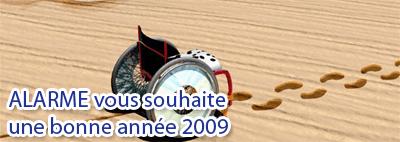 alarme vous souhaite une bonne année 2009