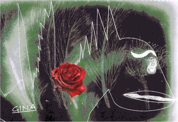 Una rosa, un libro y la leyenda de san Jorge