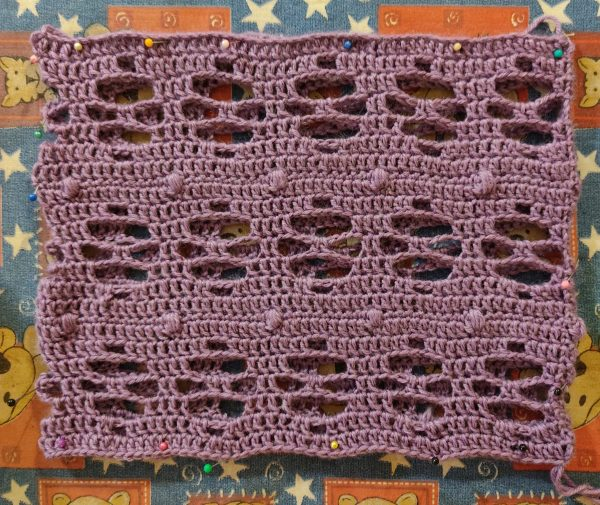 cuello jewel Alas de Lona Crochet