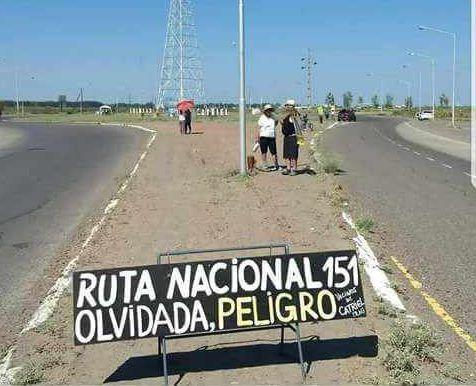ruta 151 reclamos