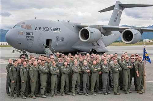 Air Guard C-17s move to 144th Airlift Squadron