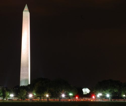 Secretary Jewell Celebrates Re-Opening of Washington Monument  After Extensive Repair of Earthquake Damage