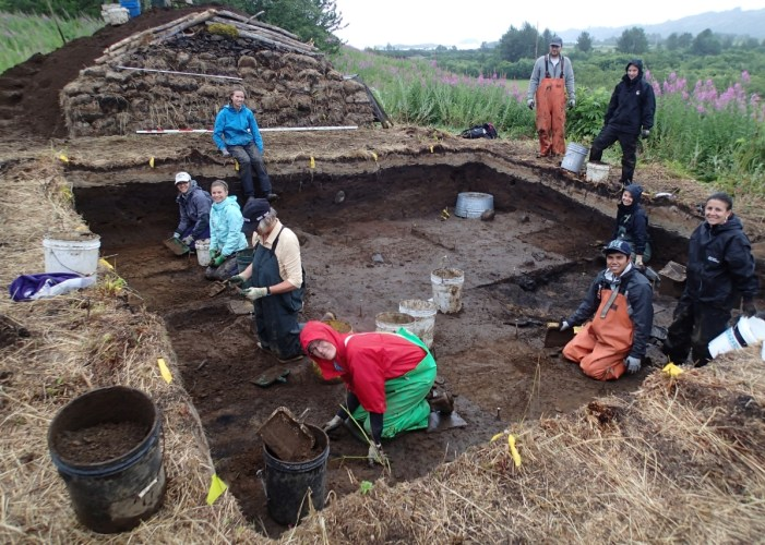 Alutiiq Museum Kicks of 2014 Summer Archaeology Program