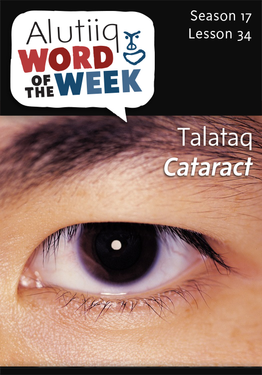 Cataract-Alutiiq Word of the Week-February 15