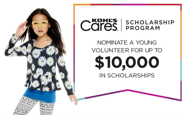 Kohl's Cares Scholarship Program Nomination Period Ends March 13