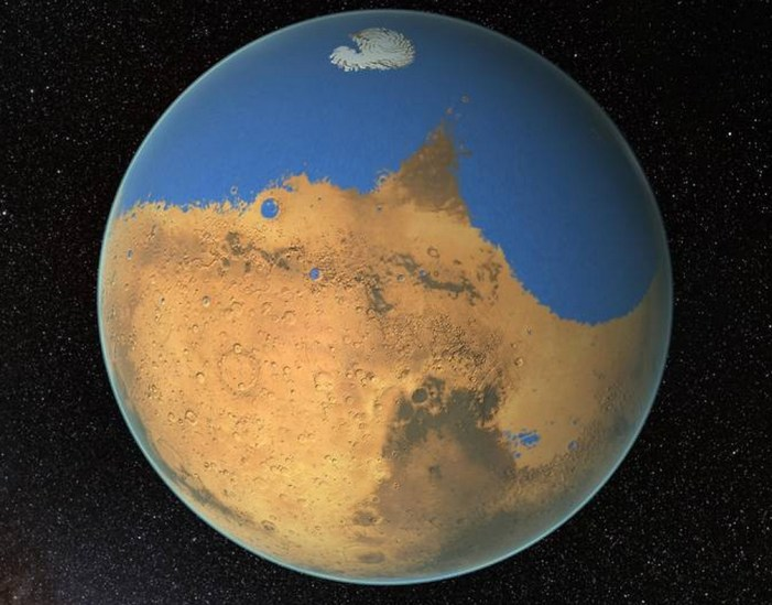 NASA Research Suggests Mars Once Had More Water than Earth's Arctic Ocean
