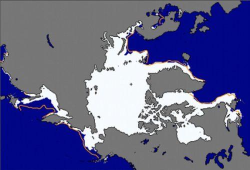 Arctic Sea Ice Reaches Lowest Maximum Extent on Record