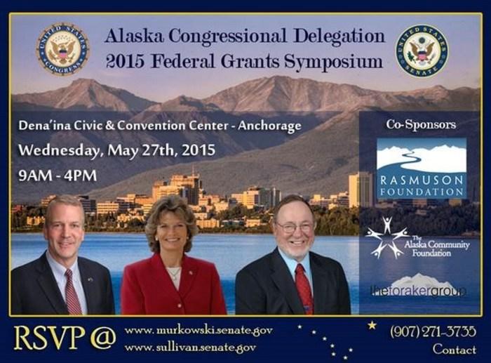 Alaska Delegation to Bring Together Grant Applicants, Federal Agencies at 2015 Symposium