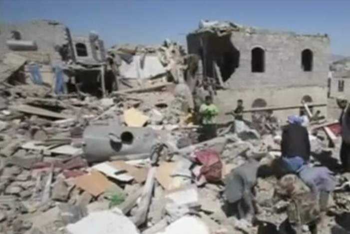 Airstrikes Continue in Yemen Ahead of Cease-fire