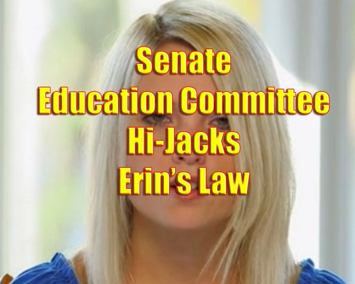 Legislation to Protect Children from Sexual Predators Hijacked by Senate Education Committee
