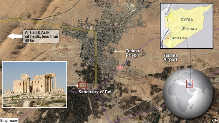 ISIL Forces Take Ancient Syrian City of Palmyra