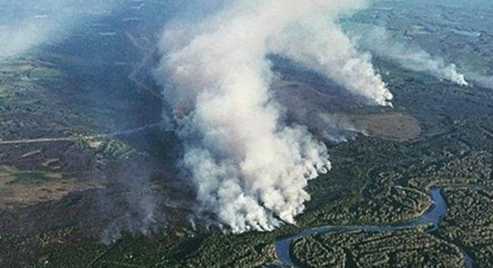 Sockeye Fire Estimated Now at 7,585 Acres