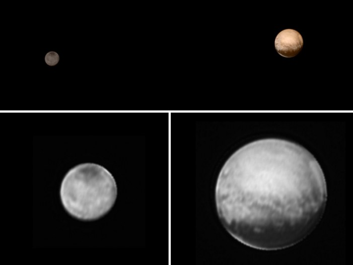 Pluto and Charon: New Horizons' Dynamic Duo
