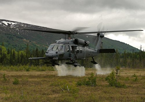 Alaska Air Guardsmen rescue hunter with restricted airway