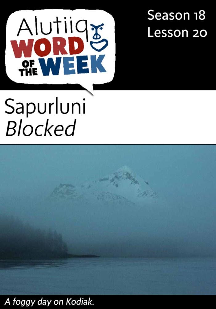 Blocked-Alutiiq Word of the Week-November 8th
