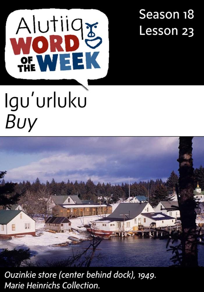 Buy-Alutiiq Word of the Week-November 30