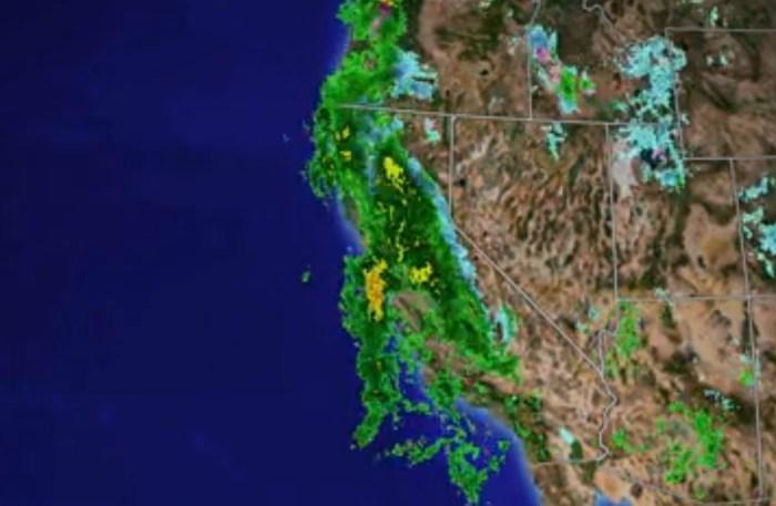 Massive El Niño Storm Hits California