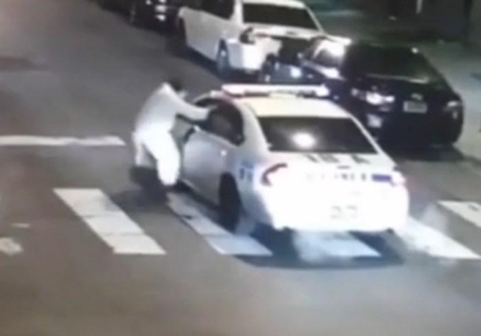 Suspect Arrested after Philadelphia Policeman Shot in Name of IS