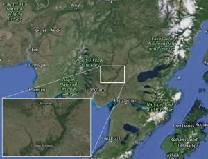 Insert shows Koliganek and New Stuyahok on the Nushagak River. Image-Google Maps