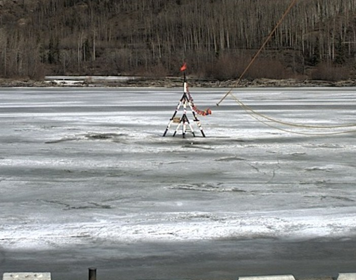 As Interior Temperatures Rise All Eyes are on the Nenana Ice Classic Tripod