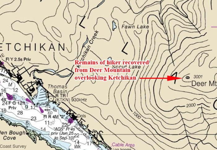 Remains of Hiker Missing Since November Found on Ketchikan's Deer Mountain