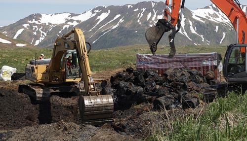 Corps Begins Cleanup of Formerly Used Defense Site at Attu Island