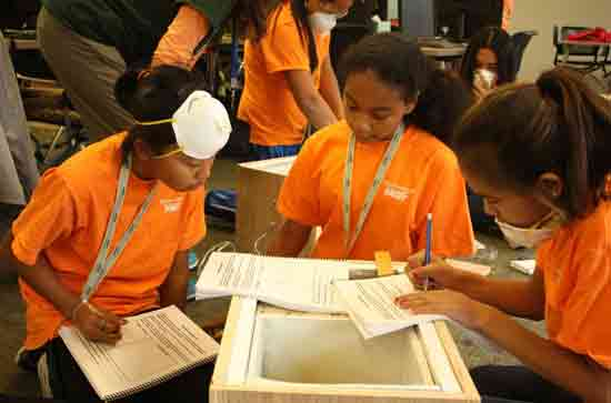ANSEP Hosts 44 Students at Middle School Academy