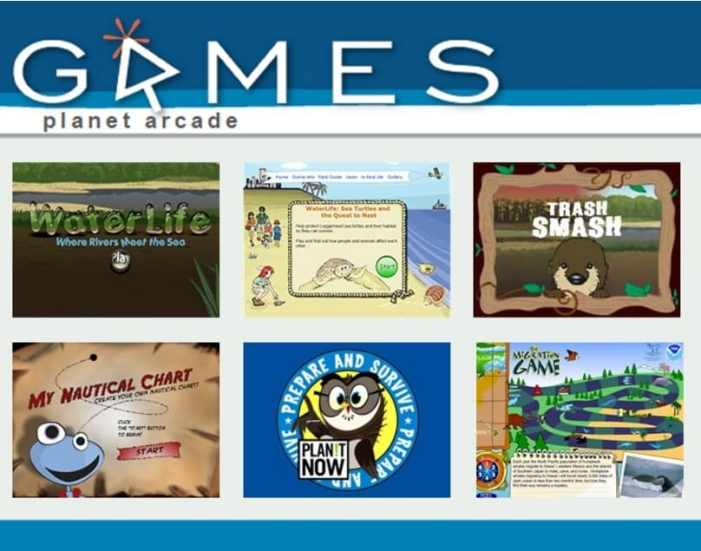 Science is kid's play: Online games for school breaks or anytime at all