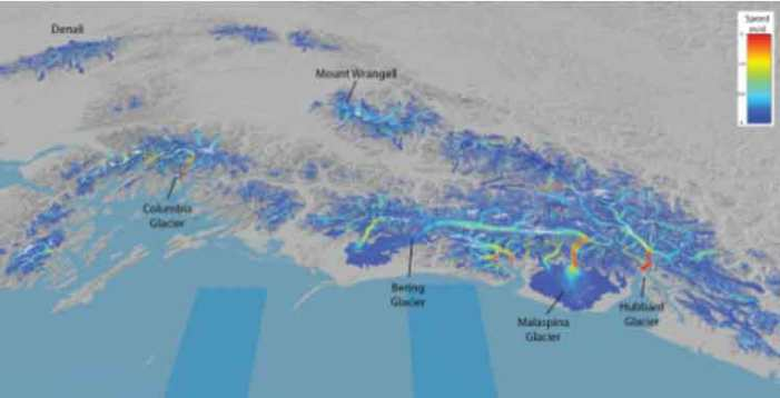 Satellite Provides Global View of the Speed of Ice