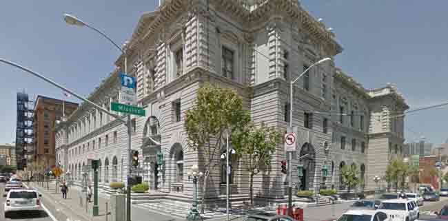 9th U.S. Circuit Court of Appeals building in San Francisco. Image-Google Maps