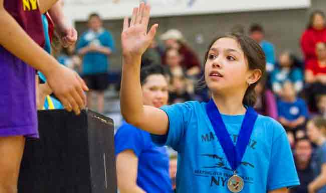 Junior Athletes Enjoy Sportsmanship, Diversity through Traditional Contests