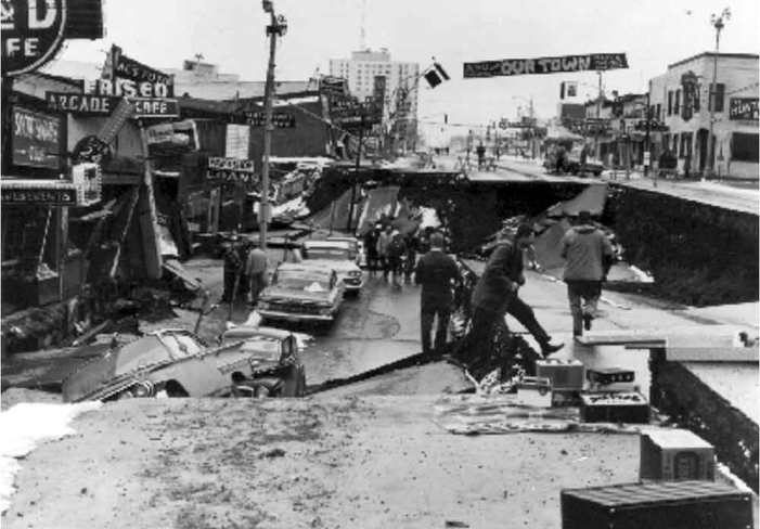 Governor Walker Lowers Flags in Honor of 1964 Earthquake Victims