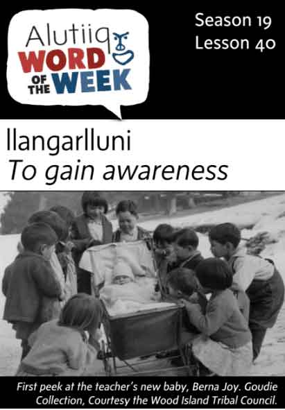 Awareness-Alutiiq Word of the Week-April 2nd