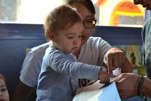 Bilingual babies: Study shows how exposure to a foreign language ignites infants' learning