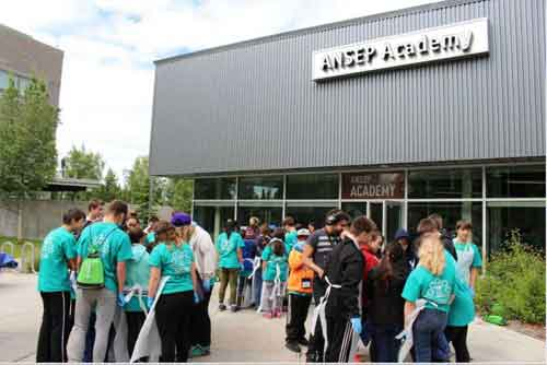 Middle School Students from 22 Alaska Communities Return to ANSEP