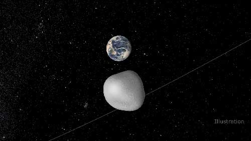 Asteroid Flyby Will Benefit NASA Detection and Tracking Network