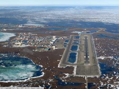 Boeing 737 Decapitates Caribou in Deadhorse